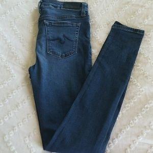 AG kids the twiggy super skinny jeans size 14
